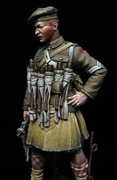 Scottish Grenadier WWI, 1915