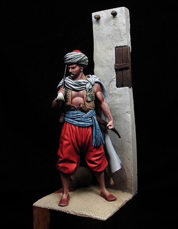 """""""Kalioncu"""" Ottoman Soldier, XVI Century"""