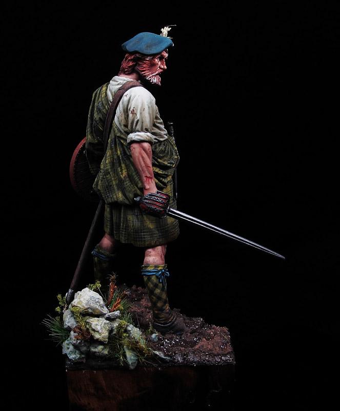 Veteran Clansman, Culloden 1746