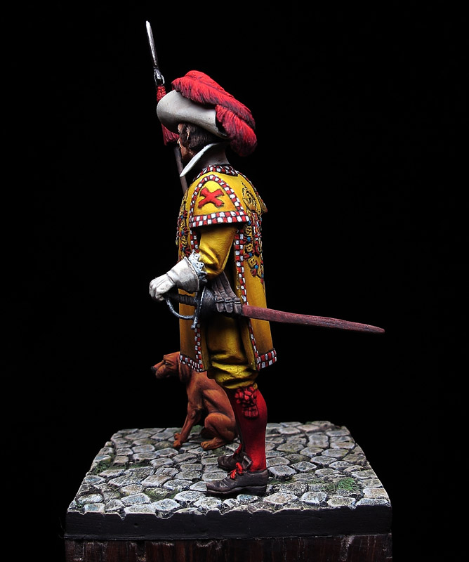 Sargento de la Coronelía de la Guardia del Rey Felipe IV