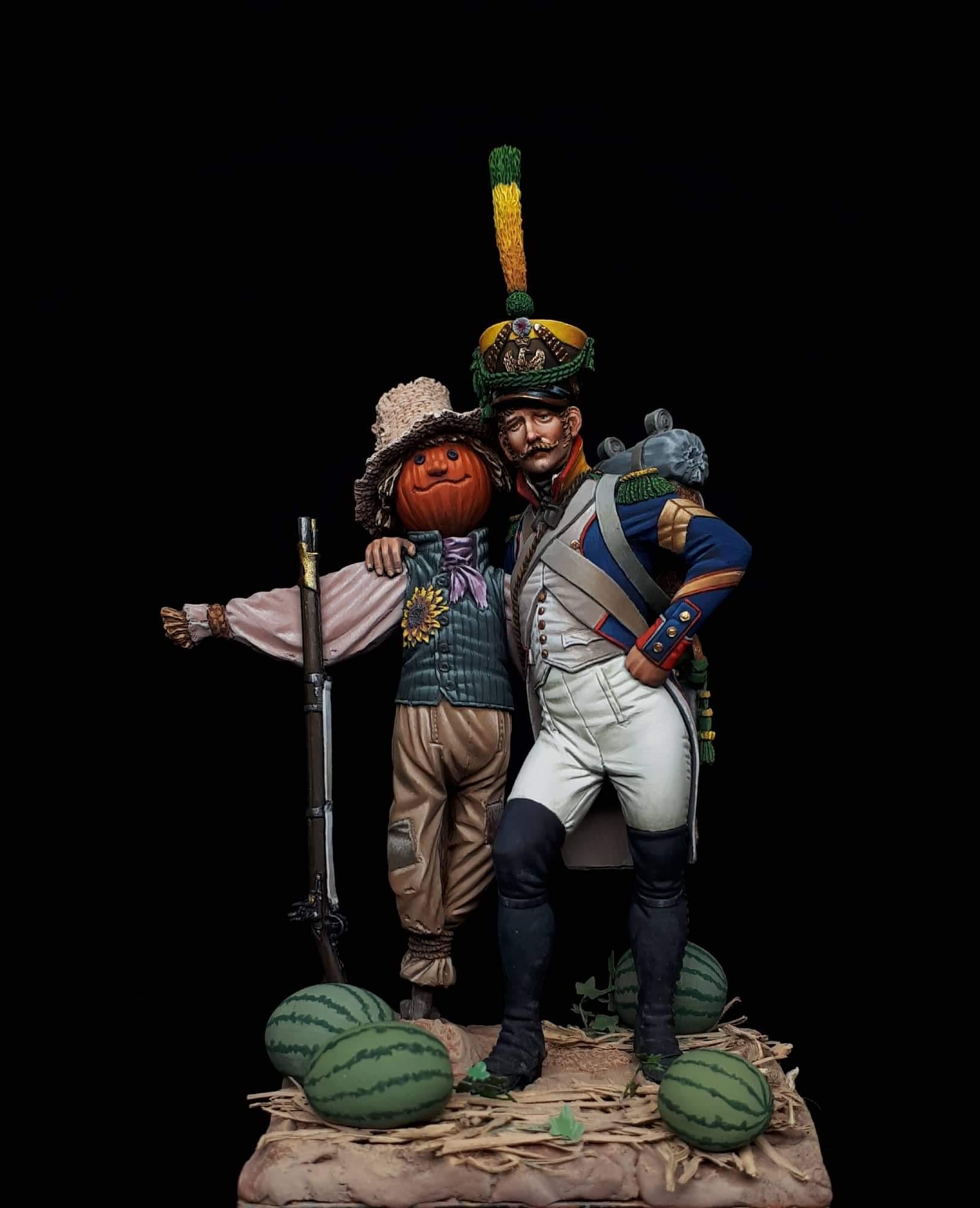 Sargent Voltegeur 3ème regiment d'Infanteri de Ligne 1809