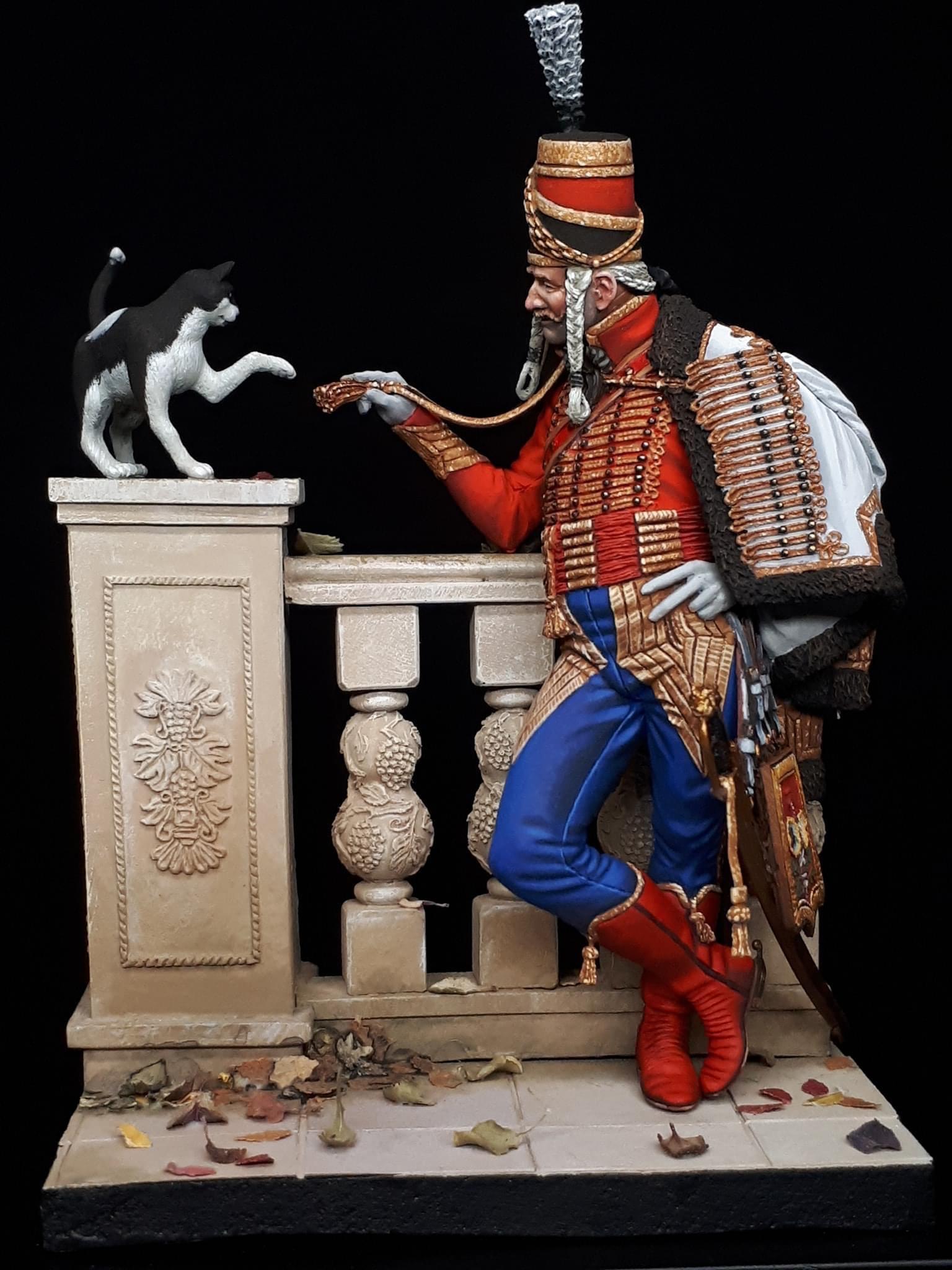 Chef d'escuadron du 6ème dut. de Hussards 1796