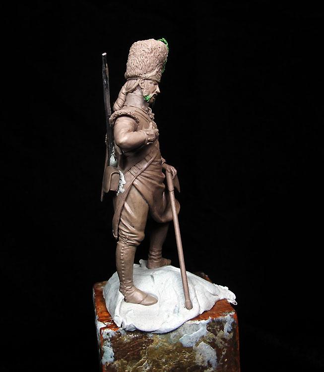 ¡ Pajarraco ! Zapador Inglés, Siglo XVIII