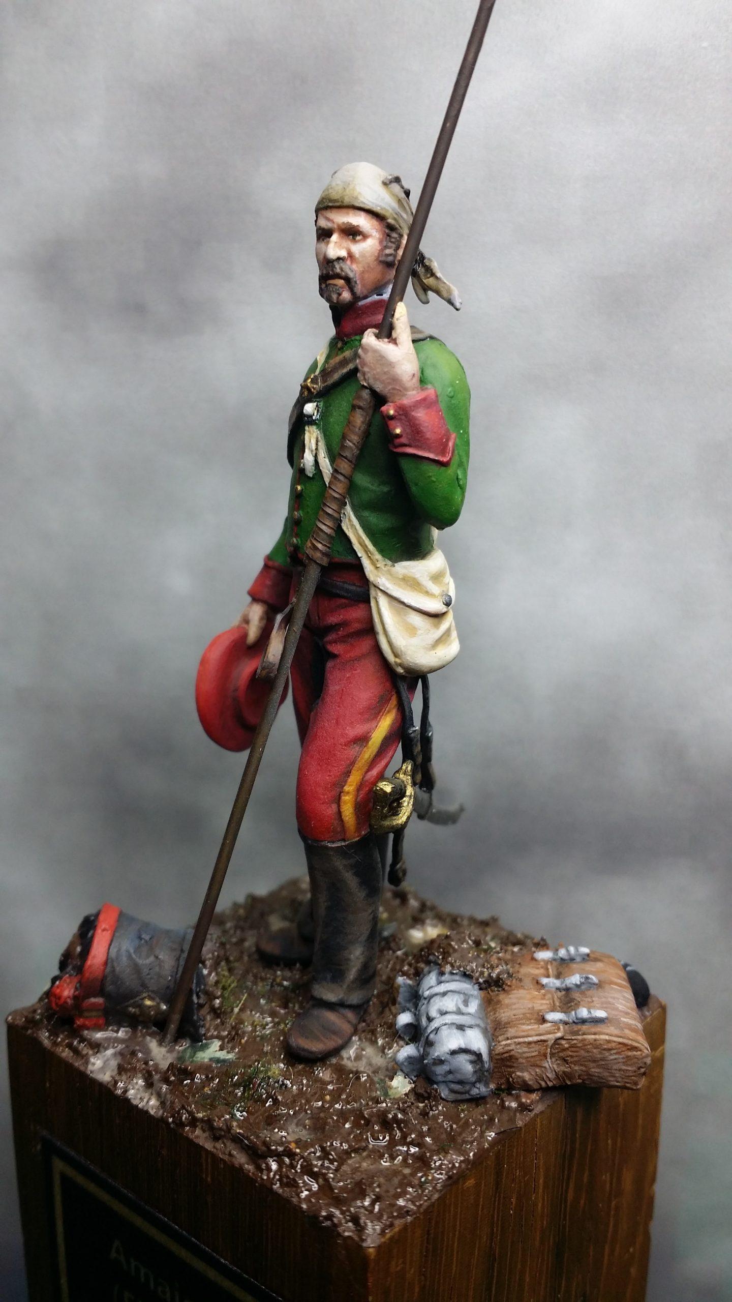 Lancero navarro - 1836