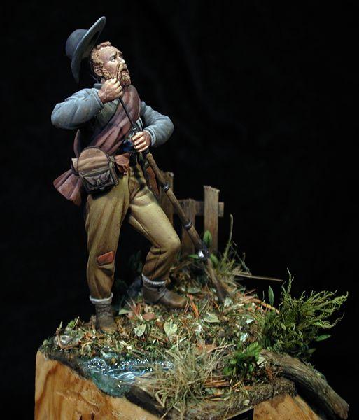 Por los pelos!! Soldado confederado. 1862