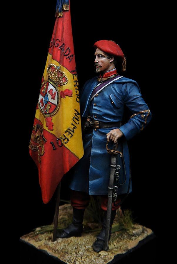 Voluntario Alavés. Tercio Nº I -  1860