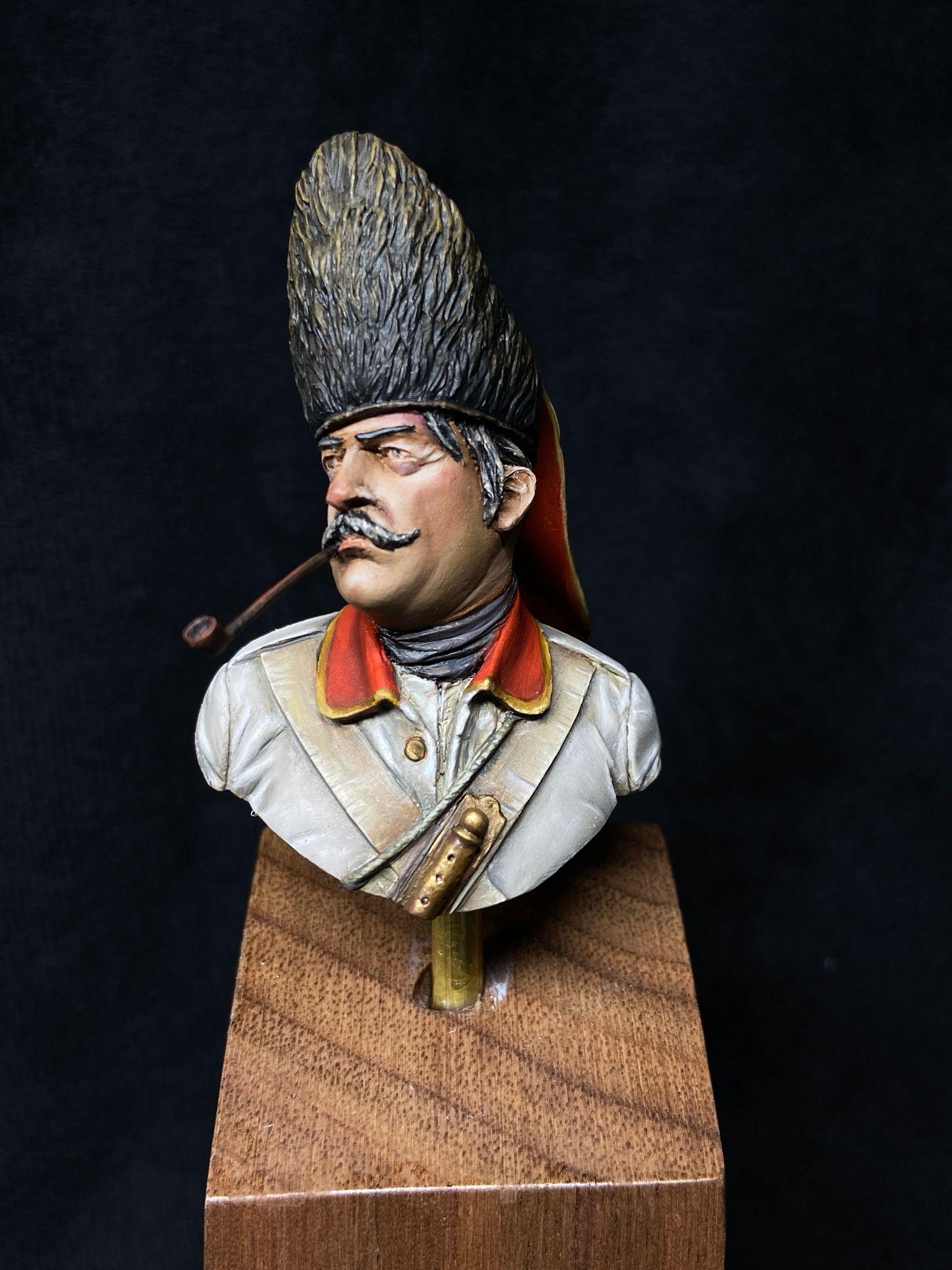 Granadero Regimiento Navarra. S. XVII