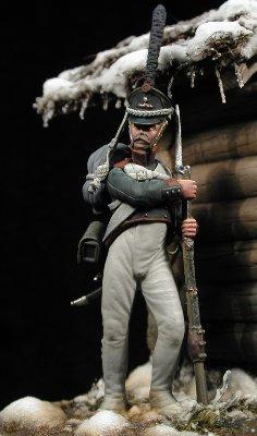Granadero de Infantería, Rusia 1813