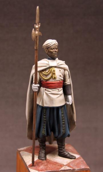 Alabardero de la Guardia Personal de S.A.I. El Jalifa - Marruecos 1934