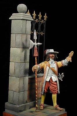 Alabardero de Carlos II, 1665