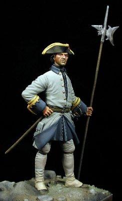 Sargento Infantería, Rgto. Saboya - España 1735
