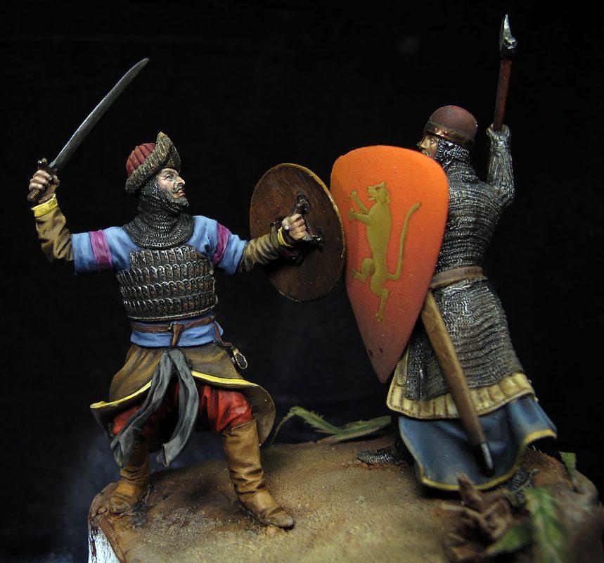 Saladino frente a Ricardo Corazón de León, 1189