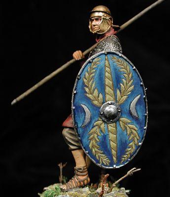 Romano Infantería auxiliar, Siglo II