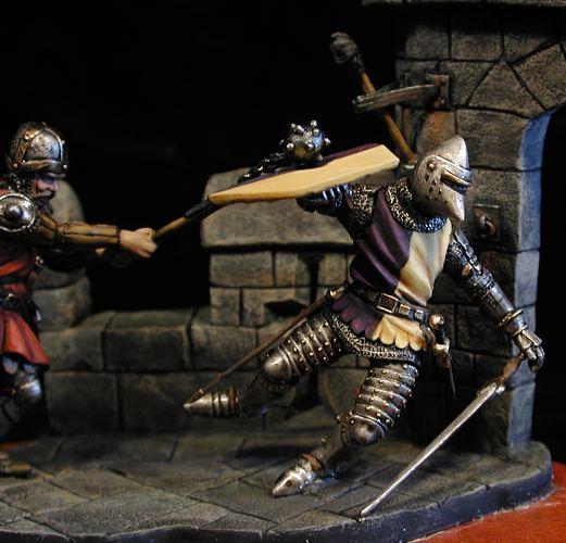 Duelo en las almenas, 1437