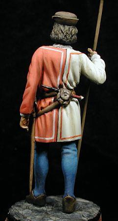 Alabardero Fernando El Católico, 1505