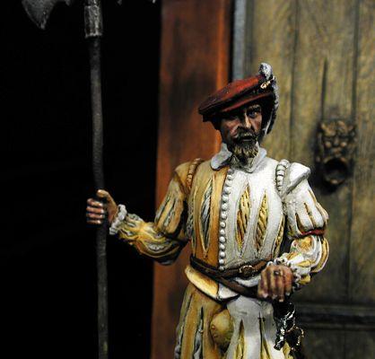 Alabardero de Carlos I, 1535