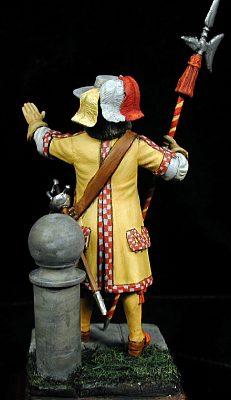 Alabardero de Carlos II, España 1685