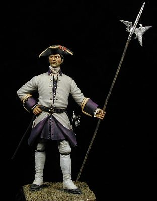 Sargento de Felipe V, España 1735