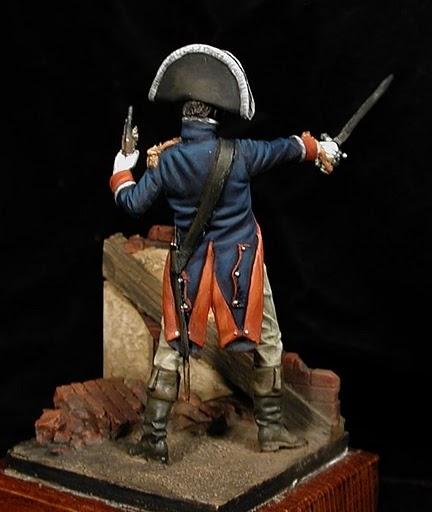Oficial Guardias Wallonas, 1808 Gamonal