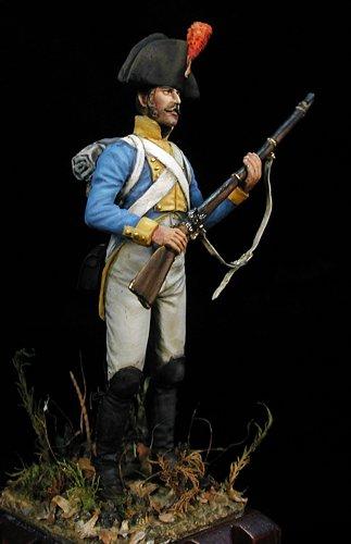 Regimiento de Irlanda, 1808