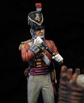 Teniente Legión Alemana del Rey, 1809
