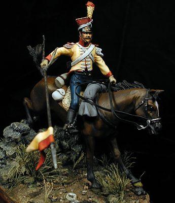 Lancero Santa Cruz, 1819