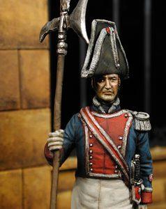 Alabardero Fernando VII 1825