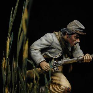 Infantería Confederada 17 Rgto. Alabama, 1864