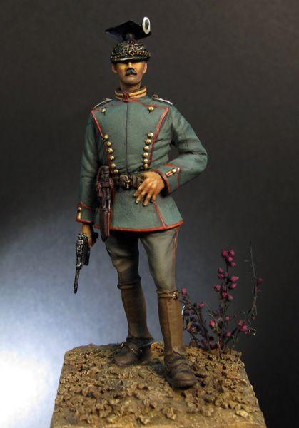 1914 Oficial Ulanos