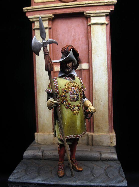Alabardero Coronelía Felipe IV, España 1634
