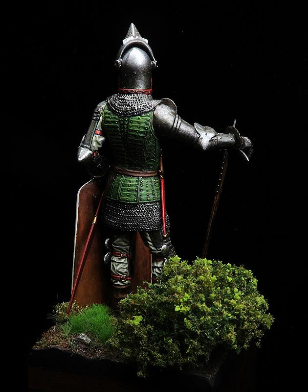 Hombre de armas del siglo XV