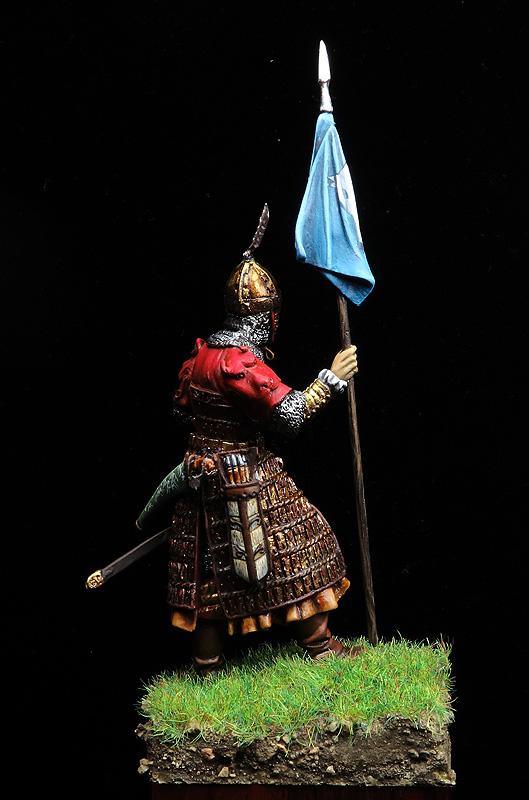 Guerrero turco de siglo VIII