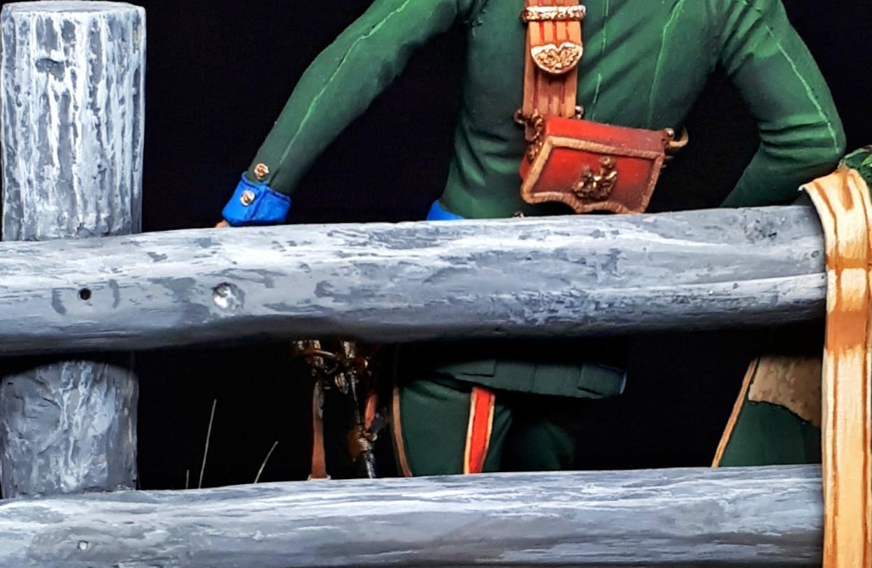 Major des chevau_légers lanciers, 5 regiment, 1813