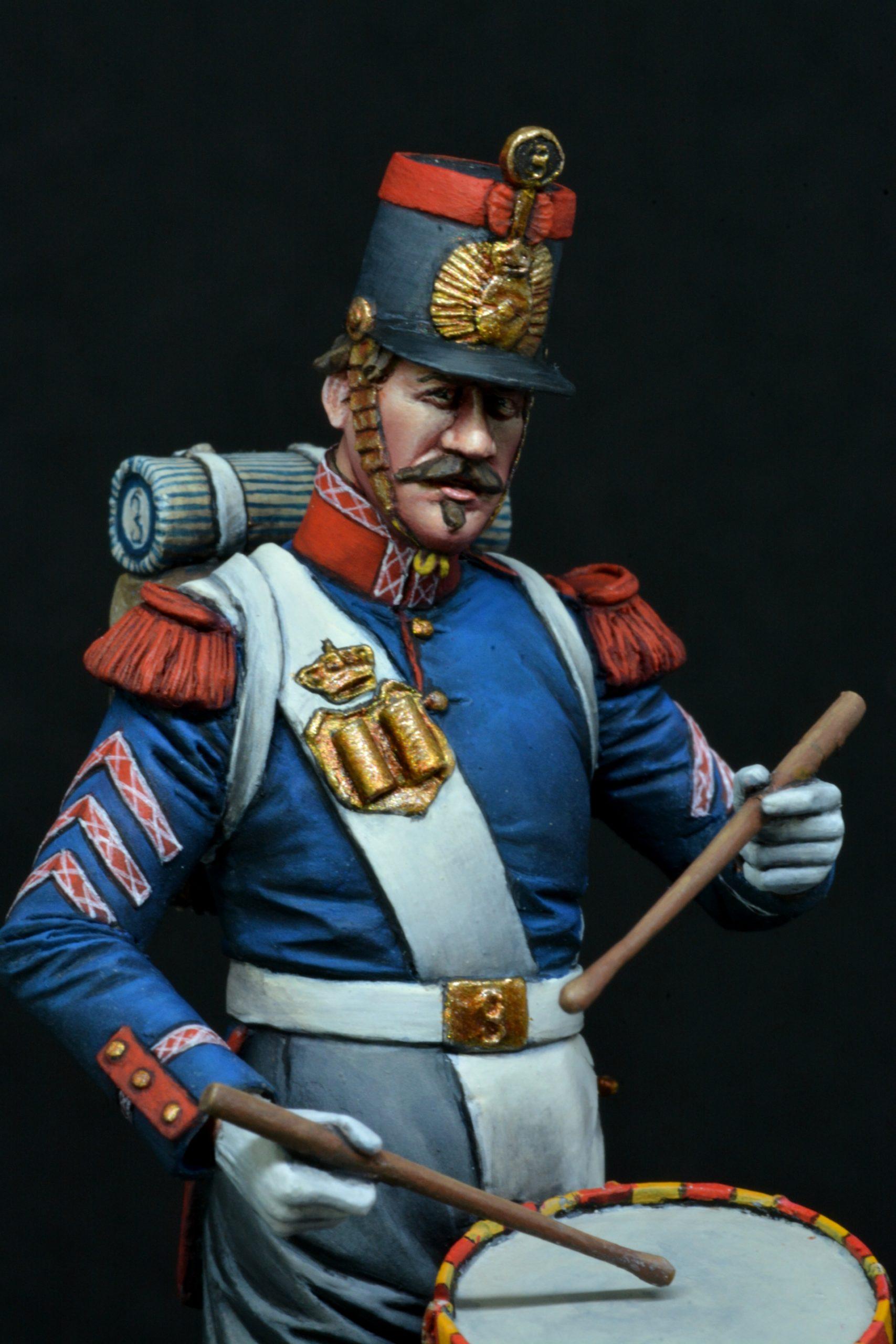 Tambor de Infantería